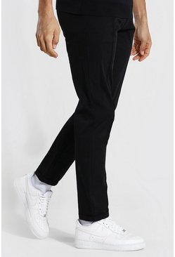 Tall - Pantalon slim court, Black