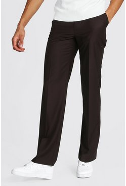 Brown Tall Straight Leg Trouser