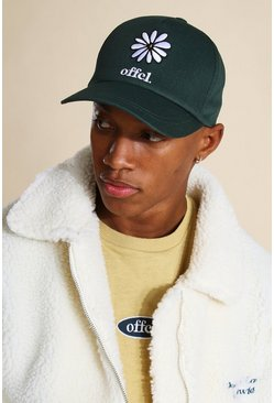 Green Official Daisy Embroidered Cap