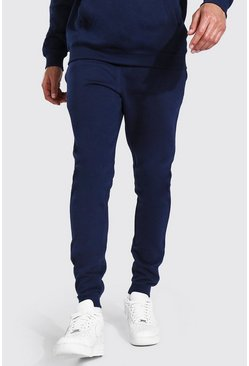 Navy Tall Recycled Skinny Fit Jogger