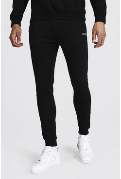 Tall Recycled MAN Dash Skinny Fit Jogger, Black