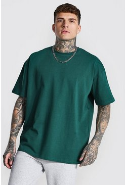 Green Oversized Heavyweight T-shirt