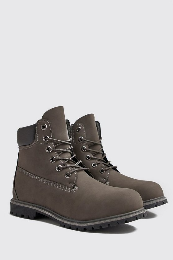 Mens Slate Worker Boots