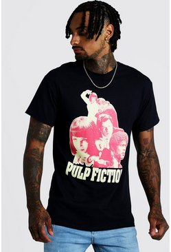 T-shirt Pulp Fiction officiel, Noir, Homme