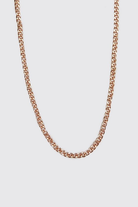 Mens Bronze Small Chain