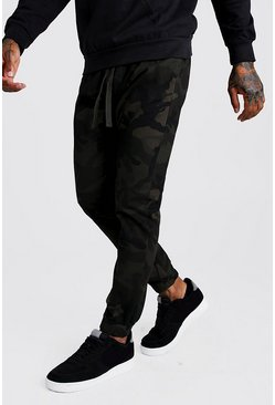 Camo Cotton Twill Jogger