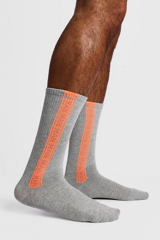 2 Pack Man Repeat Sock by Boohoo Man