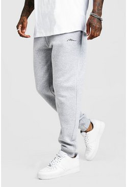 Jogging coupe ample MAN Signature, Gris