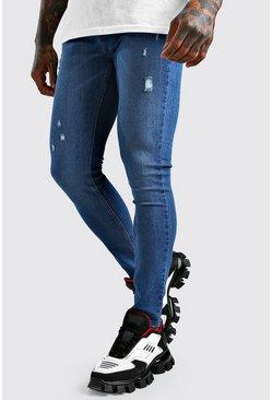 Mid blue Super Skinny Fit Jeans