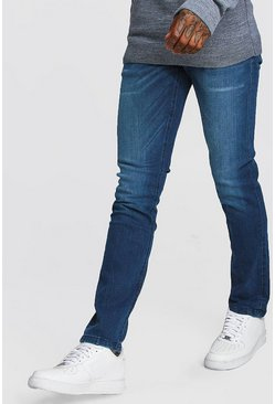 Stonewash Slim Fit Jeans