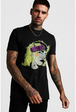 T-shirt Blondie officiel, Noir, Homme