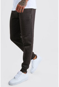 Mens Charcoal Slim Fit Jogger