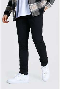 Black Regular Fit Chino
