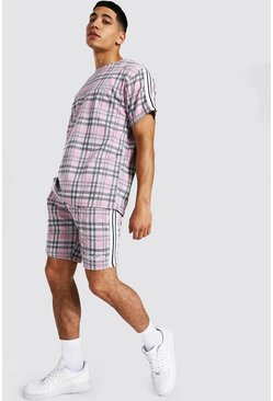 T-shirt overize et short - MAN, Pink