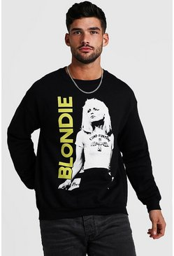 Black Blondie Loose Fit License Sweatshirt