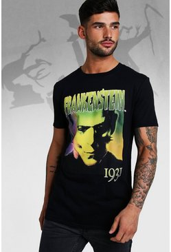 T-shirt Frankenstein officiel, Noir, Homme