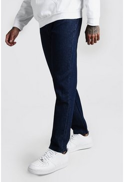 Mens Indigo Slim Rigid Jeans