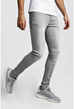 Light grey Super Skinny Jeans