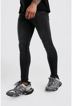 Dark grey Spray On Skinny Jeans