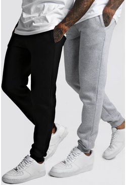 Mens Multi 2 Pack Slim Fit Jogger