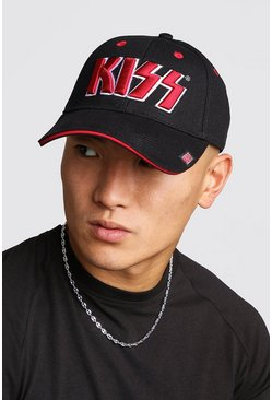 Kiss License Cap, Black, HERREN