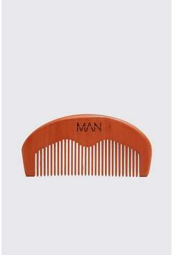 MAN Beard Comb, Black