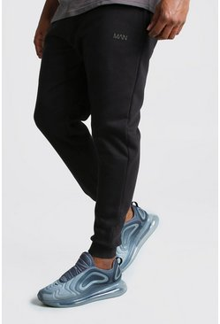 Black Big And Tall MAN Dash Skinny Fit Jogger
