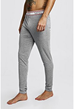 Mens Grey MAN Dash Sport Megging