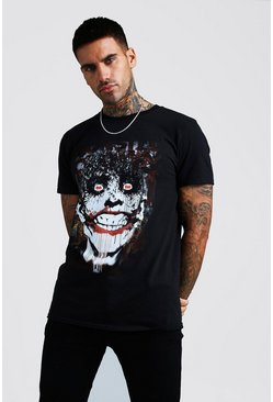 Joker License T-Shirt, Black, HOMMES