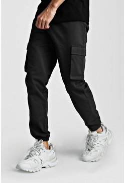 Utility Pocket Cargo Jogger Trouser, Charcoal