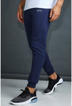 Navy MAN Active Tapered Fit Jogger