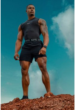 Black MAN Active Compression Tank
