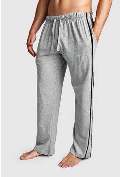 Mens Multi 2 Pack Contrast Stripe Lounge Pant