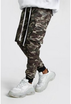 MAN Camo Cotton Cargo Trousers
