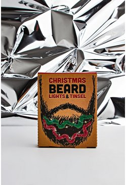 Multi Beard Lights And Tinsel
