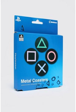 Multi PlayStation License Metal Coasters