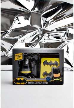 Mens Multi Batman License Egg Cup