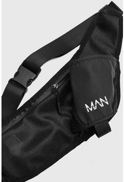 Black MAN Active Sling Bag