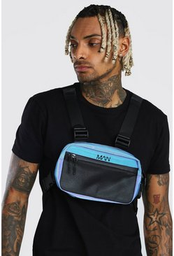 Blue Reflective Chest Rig