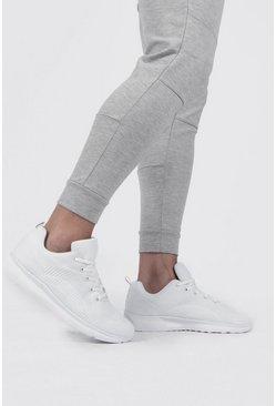 White Flyknit Sport Sneaker