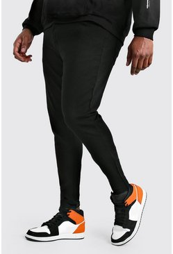 Big And Tall Super Skinny Jeans, Schwarz