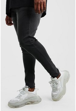 Big And Tall Super Skinny Jeans, Anthrazit