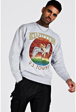 Grey Led Zepplin License Sweatshirt