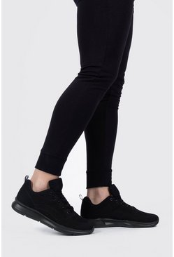 Black Flyknit Sport Sneaker