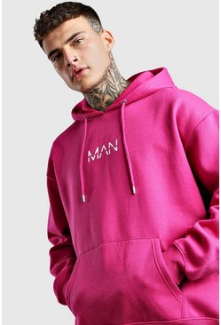 Rose Oversized Original MAN Print Oth Hoodie