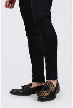 Black Baroque Loafer