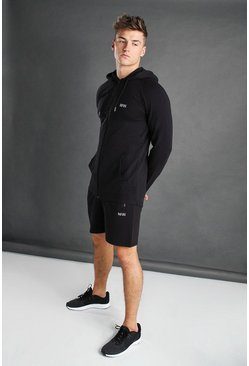 Ensemble short MAN Active, Noir