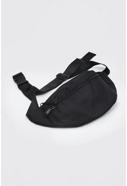 Black MAN Design Bum Bag