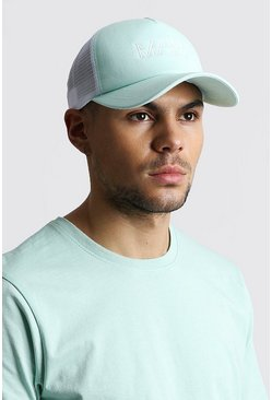 Mint MAN Dash Mesh Back Trucker