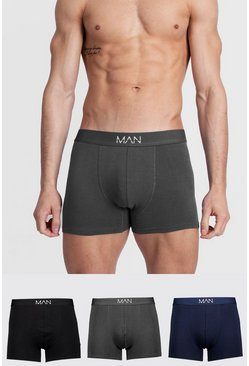 Multi 3 Pack MAN Dash Tonal Mixed Trunk